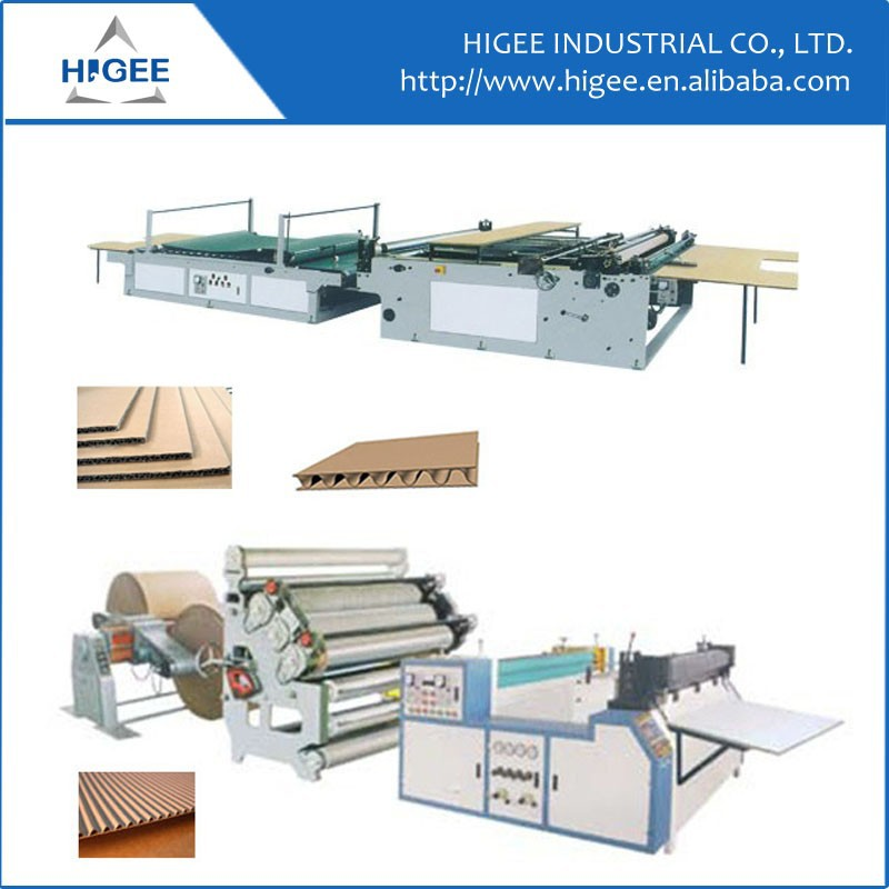 2015 cardboard five layer corrugated cardboard production line supplier