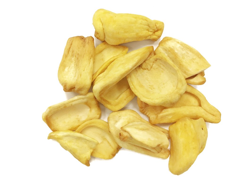 Jackfruit chip healthy snack