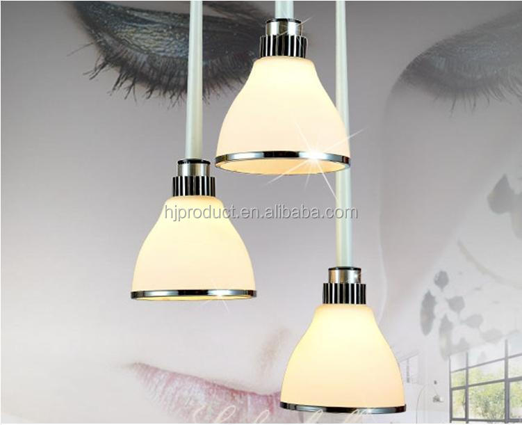 Modern Pendant Light Covers,Indoor Lamp Shade,Three Lights Glass ...
