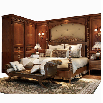 Foshan Candany Model Bedroom Furniture Luxury Bedroom Home Decor