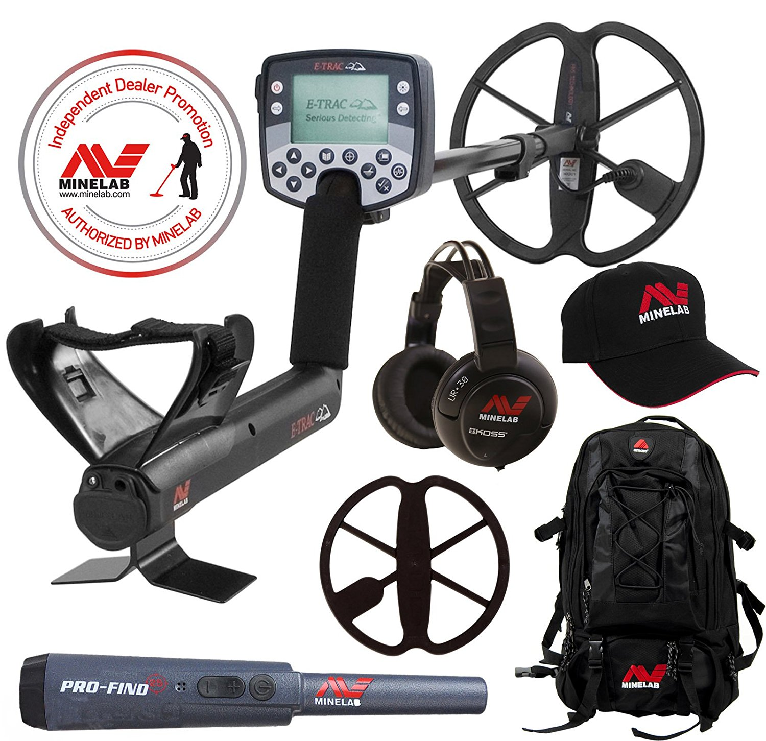 Buy Minelab E-Trac Metal Detector with 11