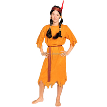 Party Carnival adult sexy american indian costume MAA-64