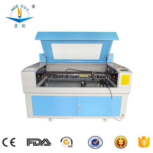 NC-1390 CO2 Laser Etching/Engraving/Cutting Machine with Auto focus Motorized table