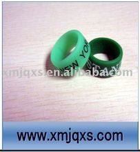 Eco-friendly Custom printing silicone thumb ring/thumb bands silicone