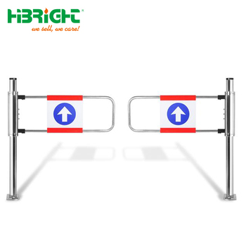 stainless access control awesome automatic swing gate for supermarket