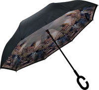Factory Promotions New Invention Auto Opens kazbrella umbrella inverted