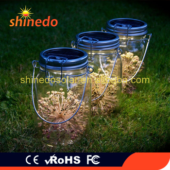 Low Voltage Hanging Mason Jar Bottle Solar Lid 4pcs Led Lights For Home Table Party And Garden