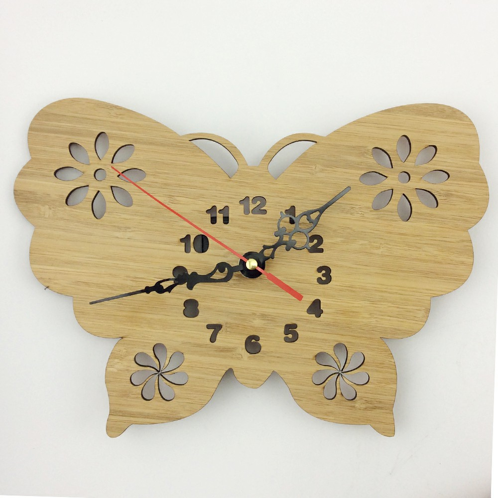 Butterfly Shaped Wall Clock, Butterfly Shaped Wall Clock Suppliers ...