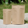 Kraft Paper Coffee Bag with One Way Degassing Valve/500g 1kg Kraft bag with valve