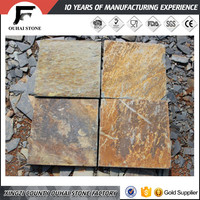 Royal copper color natural slate stone rusty patio flooring tile