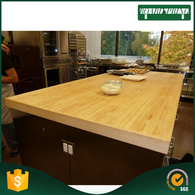 Bambou finger mixte bois table top, bois comptoir panneauComptoirs, comptoir