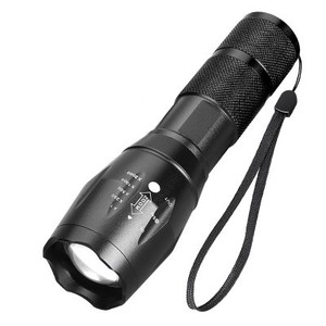 Multi-functional strong light explosion proof flashlight torch light tactical powerbank camping lantern