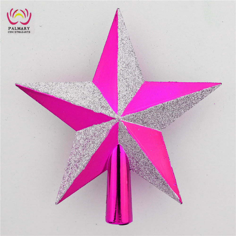 best make Christmas tree top star, 15/20 cm manufactured fashion Christmas tree Ornaments, hot items Xmas treetop star