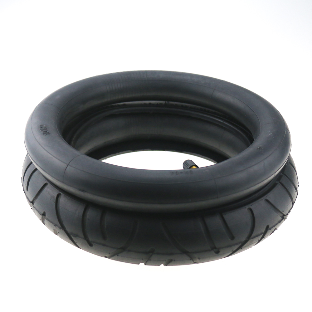10*2 Inner Tube with 90 Straight Valve/ 10 inch Camera Upgraded for Xiaomi M365 Pro Scooter/10x2 54-156 Tyre Wanda P1237 Tire