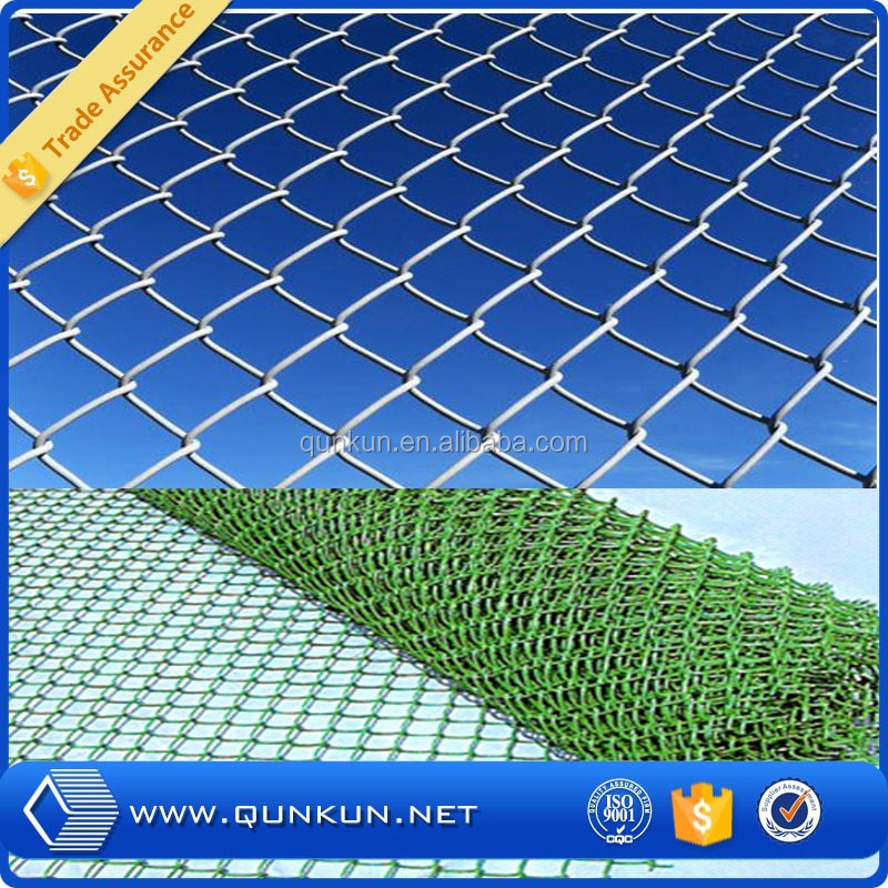 2015 hot products chain link fence privacy slats / chain link fence from Qunkun