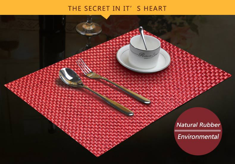 Marvelous Rubber Table Top Mat /restaurant Table Mats /dining Table Mat