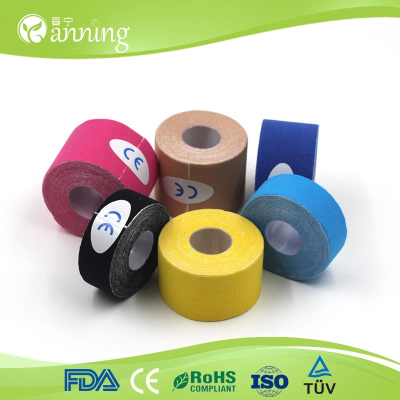 epos tape,ce/fad/iso approved kinesiology tape,kinesiology roll cotton