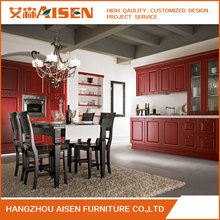 South Korea Export Solid Wood Kitchen Cabinet