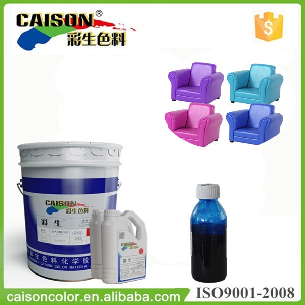 Slurry furnishings pigment paste for coating