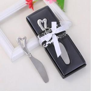 Wholesale price butter knife wedding giveaways wedding favors gifts