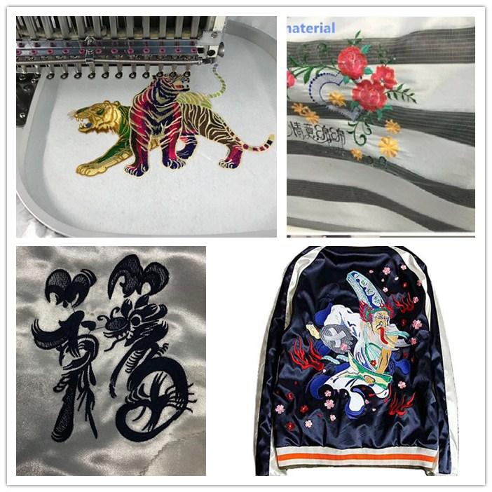 8 Heads Computer Embroidery Machine with tajima embroidery design
