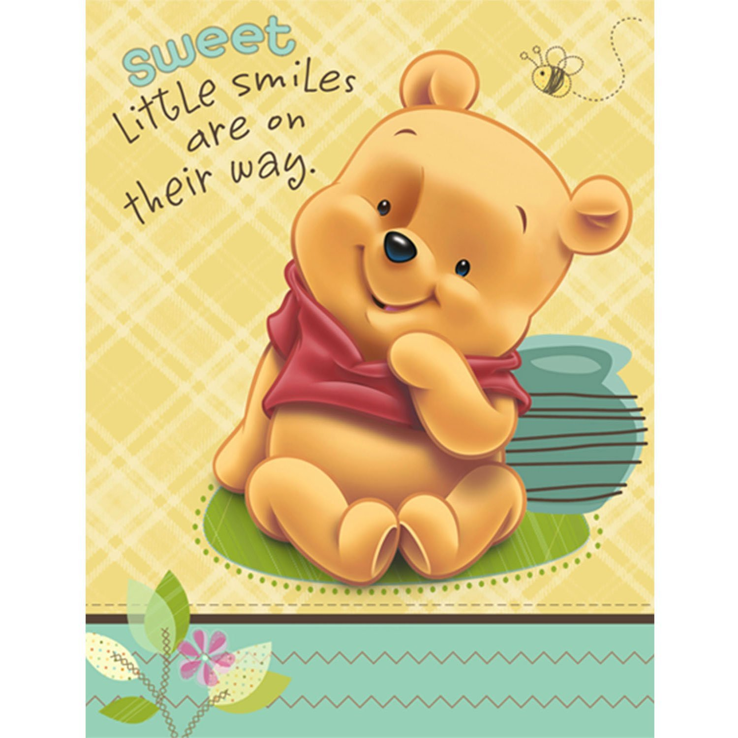 Buy baby pooh and friends baby shower invitations 8 count in cheap baby pooh and friends baby shower invitations 8 count filmwisefo
