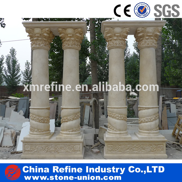 Image gallery outdoor pillar designs for Hb g permacast columns