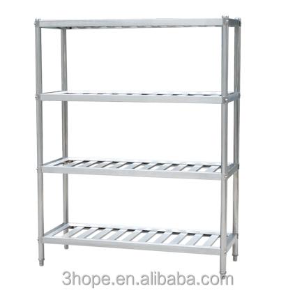Restaurant Kitchen Racks 4 layers restaurant kitchen stainless steel shelves/stainless