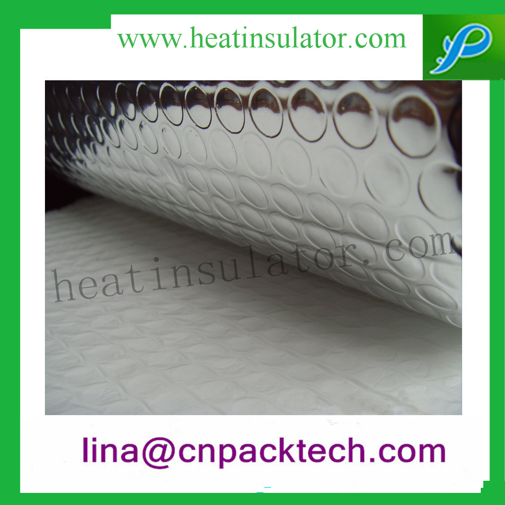 Bubble Padded Silver Foil Face Heat Insulation Material In Ceiling / Wall Insulation
