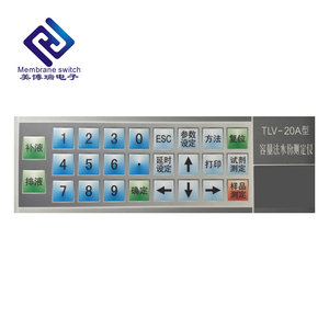 OEM/ODM PET Membrane Switch Infrared Numeric Keypad with Touch Screen Panel