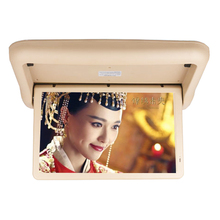 Full Auto 15.6 Inch flip down car roof motorized monitor for sale