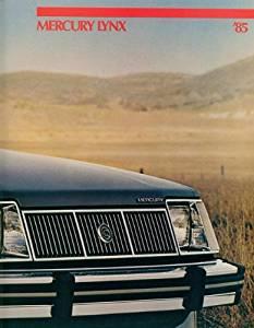 1985 MERCURY LYNX PRESTIGE COLOR SALES BROCHURE - P3719 - EXCELLENT -USA !!