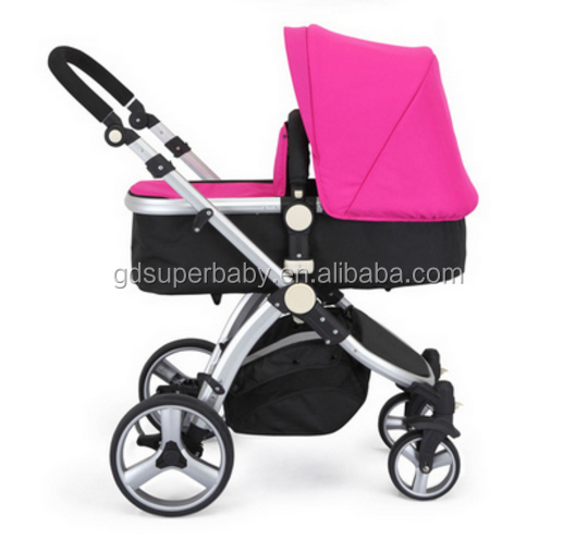 New Baby Stroller High-landscape Pram Portable Folding
