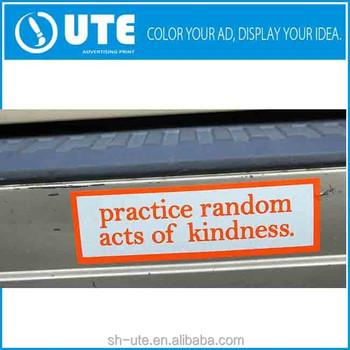 Custom Funny Car Bumper Stickers Sayings Buy Custom Bumper