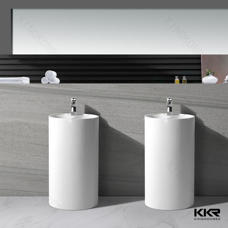 ,Free Standing Bathroom Pedestal Basin - Buy Pedestal Wash Basin,Free ...
