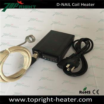 Enail coil heater