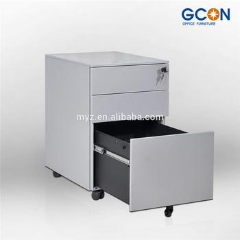Colorful office equipment for A4 file cabinet3 drawer mobile pedestal for sale & Colorful office equipment for A4 file cabinet3 drawer mobile ...