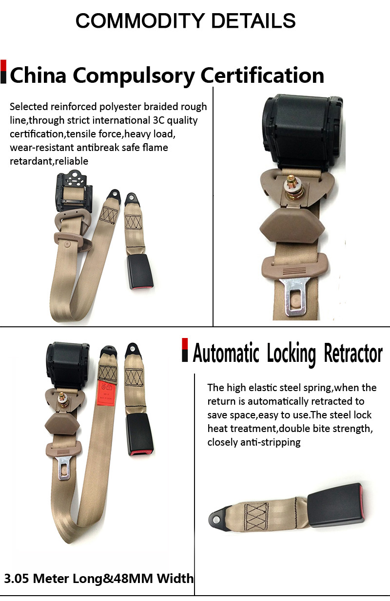 automatic safety seat belt