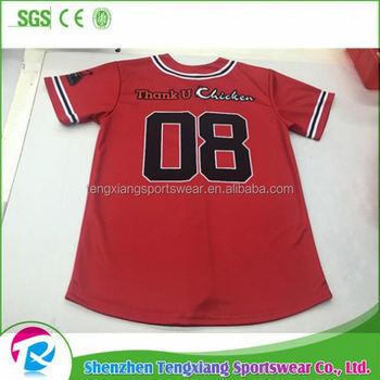 2017 Summer Best Selling White Sox Stripe Red Baseball Jersey - Buy ... 35160c35895