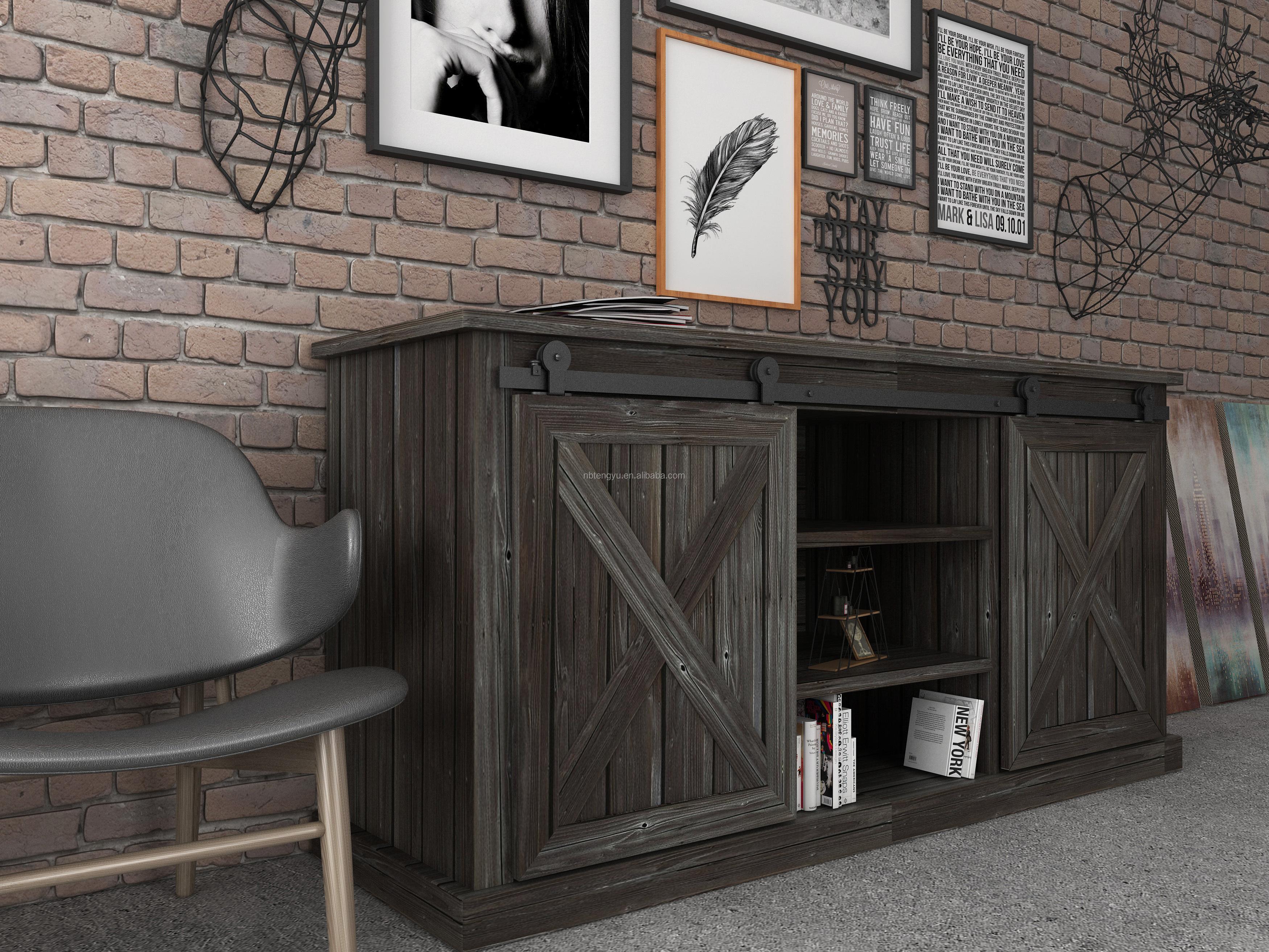 Porte Grange Coulissante Bois panneau en bois coulissant pour armoire en x,mini porte de grange pour  cuisine et meuble tv - buy porte coulissante d'armoire,porte  coulissante,mini