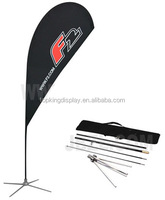 fibreglass and aluminium flagpoles for beach teardrop and feather flags