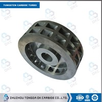 High efficiency and long lifespan carbide cutting tool Thin tungsten carbide turbo segment diamond saw blade