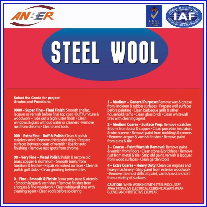 0000 Steel Wool For Sale: 0-0000 Grade Steel Wool In Roll
