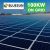 on grid 5kw 10kw 100kw solar power system for home application