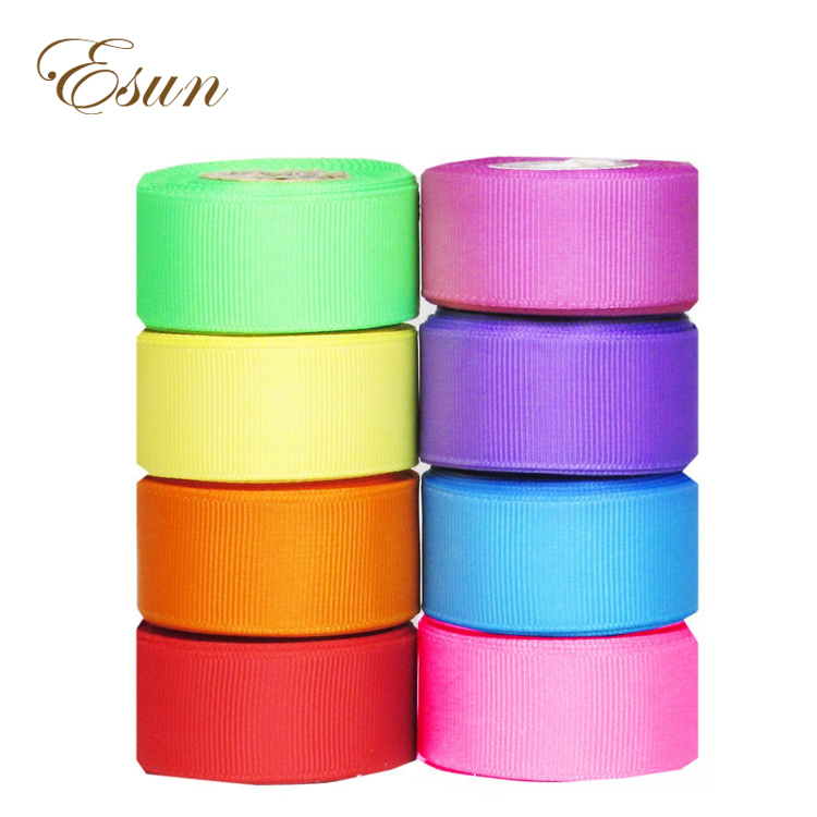 "Wholesale custom never worn fadeless 2"" 50mm grosgrain ribbon"