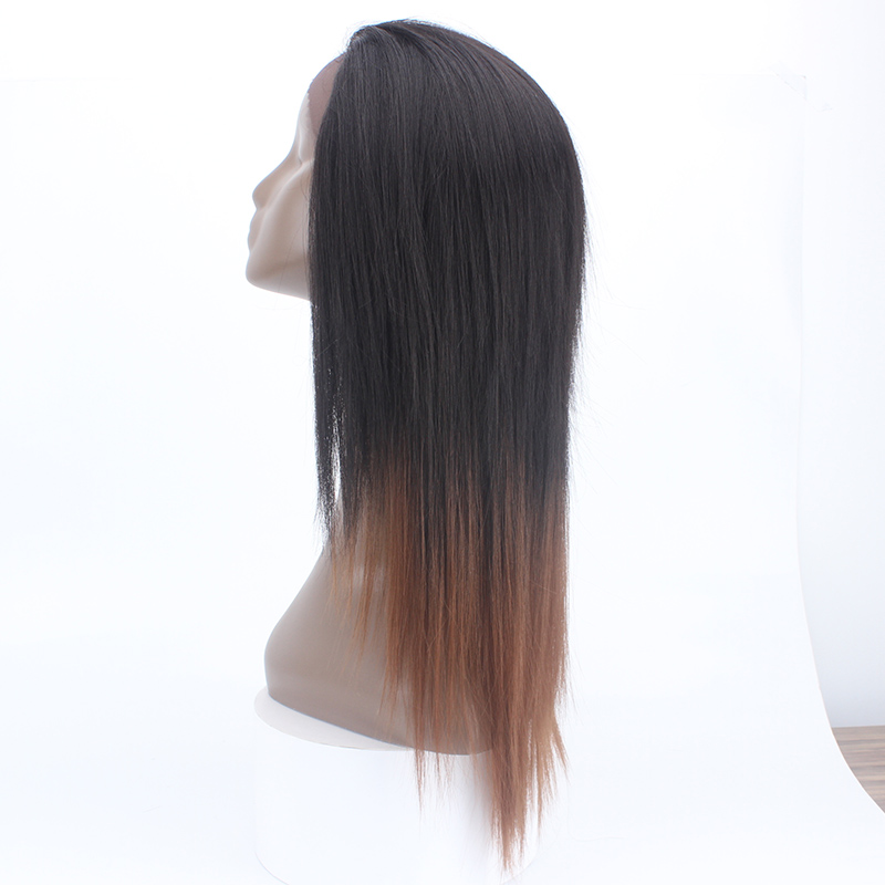 Ladies Free tress no glue tape <strong>Full</strong> cap Long straight T2 30 <strong>Synthetic</strong> ombre color glueless <strong>lace</strong> frontal <strong>wig</strong> for black women