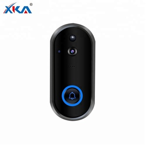 Outdoor Wireless Network 24V Intercom 1080P Battery Smart Wifi Video Doorbell With Sd Card