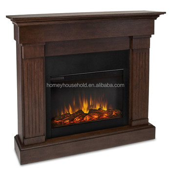 Indoor Chiminea 2 Sided Electric Fireplace Wood Stoves