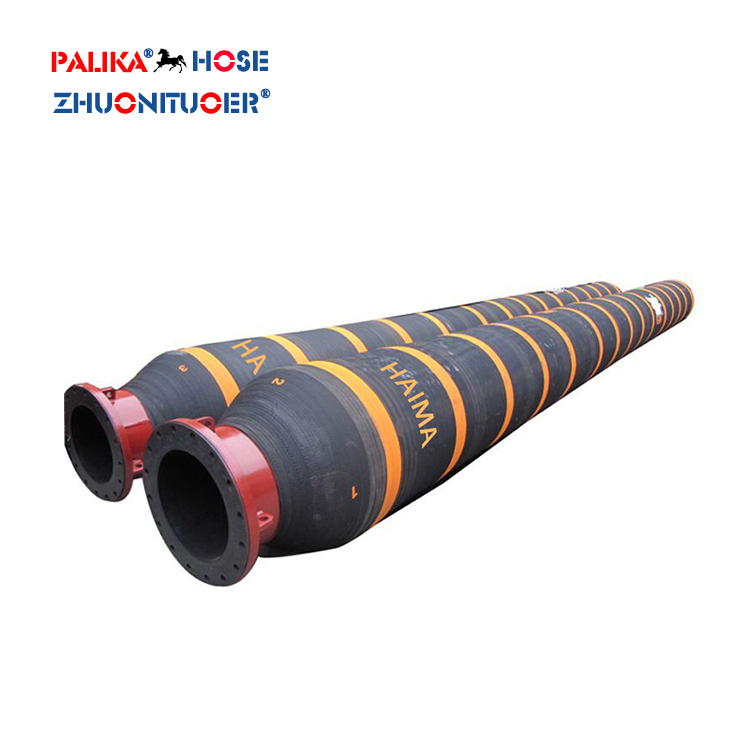 Marine Dredge Floating Rubber 4 Inch Discharge Hose