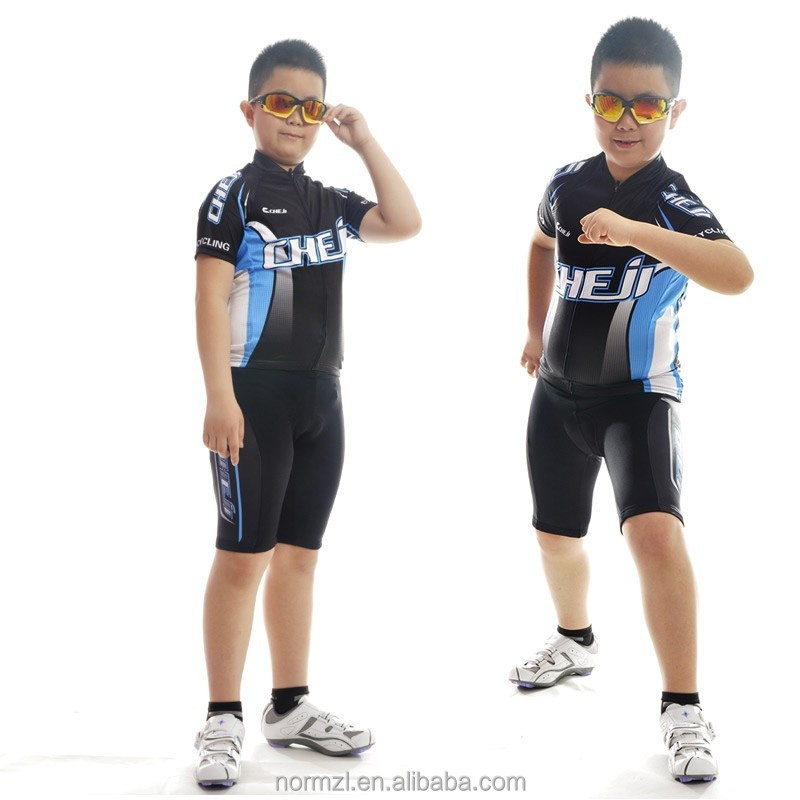 Custom printed kids cycling team specialized jersey
